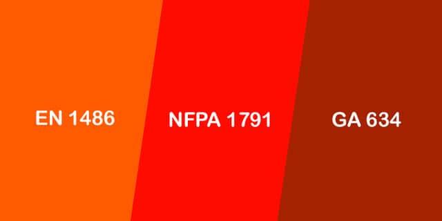 Standards-en1486-nfpa1791-ga634