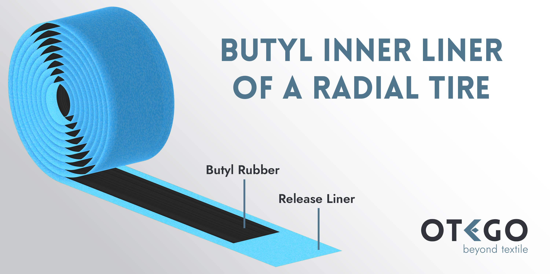 Butyl Rubber Release Liner Otego Dickson PTL