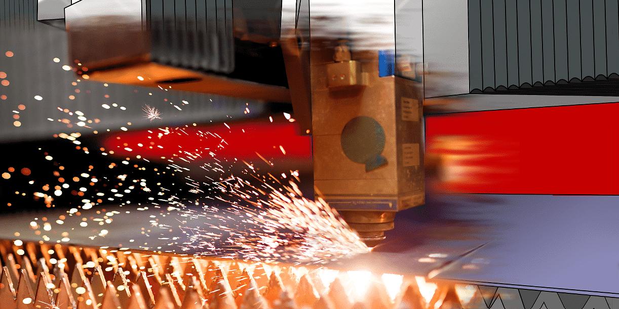 激光切割机专用的机床防护罩:仅需阻燃性还是要完全防火?